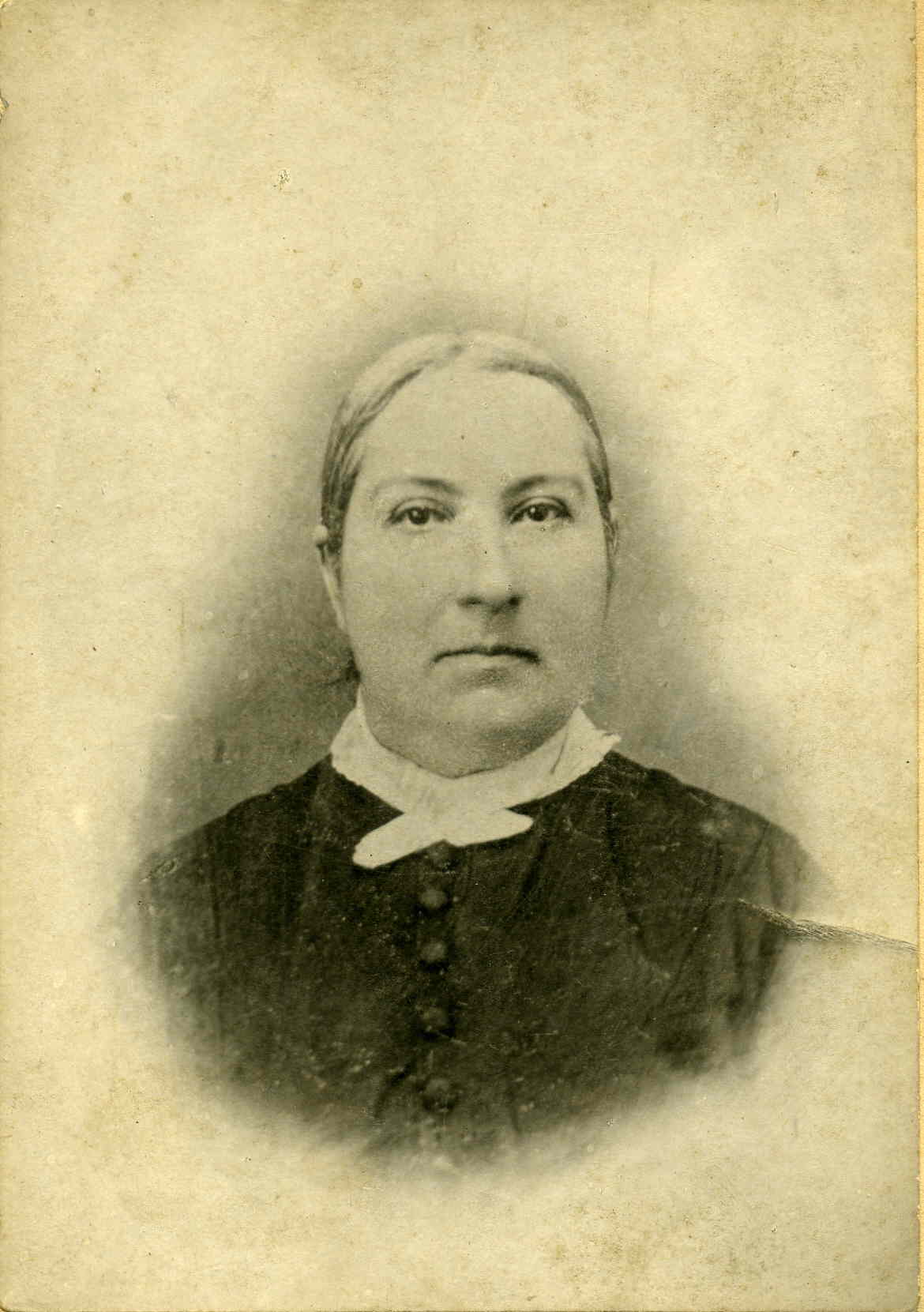 Photo of Lavina (Bowman) Geiger, mother of Mary Geiger of Somerset County, PA.